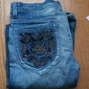People 4 peace twisted hippy flair jeans